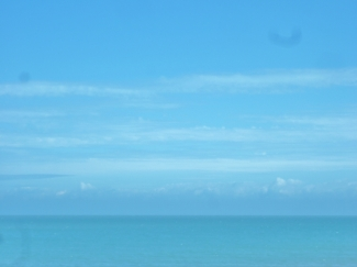 my Blue View from Sandwich Bay across the sea to Europe l on a blissful day