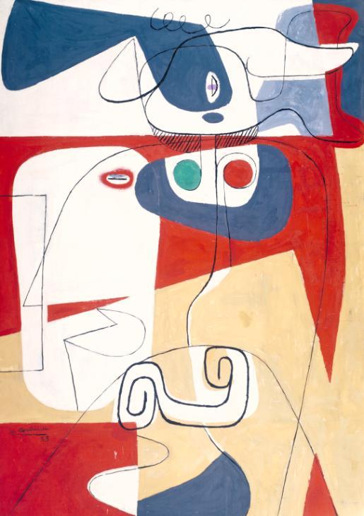 Bull III 1953 Le Corbusier (Charles-Edouard Jeanneret) 1887-1965 Purchased 1954 http://www.tate.org.uk/art/work/N06224