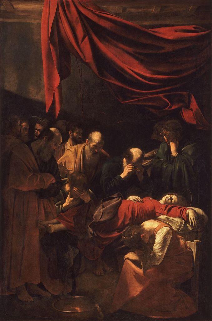800px-Death_of_the_Virgin-Caravaggio_(1606)