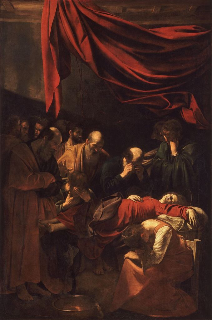 800px-Death_of_the_Virgin-Caravaggio_(1606)