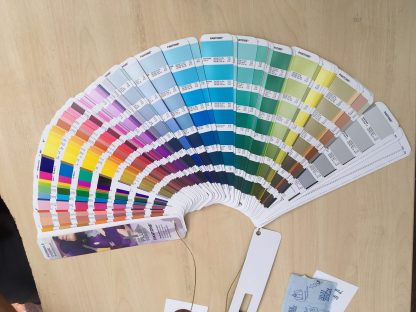 My Pantone set - and this is the small version!